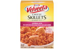 Velveeta Cheesy Skillets Jambalya Dinner Kit 14.3 oz. Box