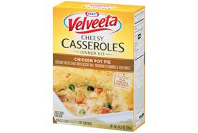 Velveeta Cheesy Casseroles Chicken Pot Pie Dinner Kit 10.5 oz. Box