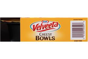 Kraft Velveeta Cheesy Bowls Ultimate Cheeseburger Mac 9 oz. Tray