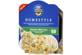 Kraft Homestyle Creamy Broccoli Macaroni & Cheese Dinner 4.1 oz. Microwave Bowl