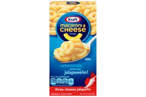 Kraft Three Cheese Jalapeno Macaroni & Cheese Dinner 5.5 oz. Box