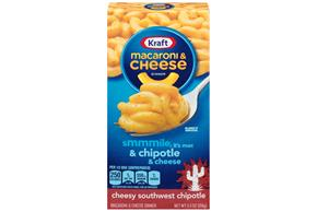 Kraft Cheesy Southwest Chipotle Macaroni & Cheese Dinner 5.5 oz. Box