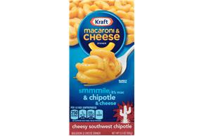 Kraft Cheesy Southwest Chipotle Macaroni & Cheese Dinner 5.5 oz. Box