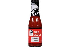 Taco Bell(R) Fire Sauce 7.5 oz. Bottle