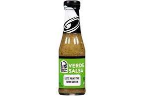Taco Bell(R) Verde Salsa 7.5 oz. Bottle