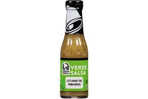 Taco Bell(R) Verde Salsa 7.5 oz. Bottle