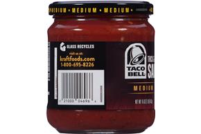 Taco Bell(R) Medium Thick & Chunky Salsa 16 oz. Jar