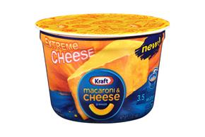 Kraft Extreme Cheese Macaroni & Cheese Dinner 2 oz. Microcup