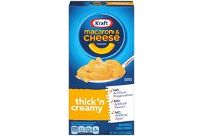 Kraft Thick 'n Creamy Macaroni & Cheese Dinner 7.25 oz. Box