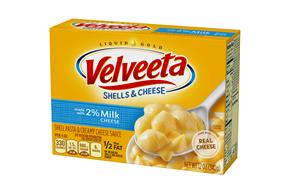 Kraft Velveeta Shells & Cheese Made with 2% Milk Cheese 12 oz. Box