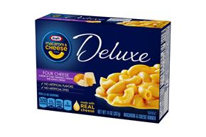 Kraft Dinners Deluxe Four Cheese Macaroni & Cheese Dinner 14 Oz Box
