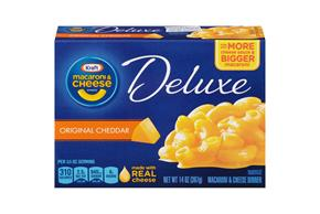 Kraft Dinners Deluxe Original Cheddar Macaroni & Cheese Dinner 14 Oz Box