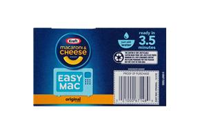 Kraft Easy Mac Original Flavor Macaroni & Cheese Dinner 12.9 oz. Box