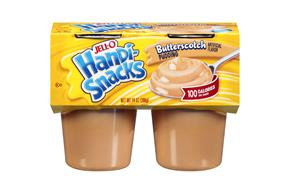 Jell-O Handi-Snacks Butterscotch Pudding 4 Ct Cups