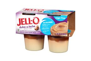 Jell-O Pudding Ready To Eat  Dulce De Leche Sugar Free 4 Ct Cups