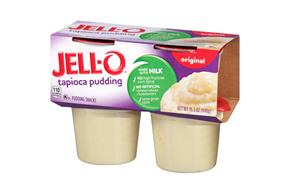 Jell-O Pudding Ready To Eat Tapioca 4 Ct Cups