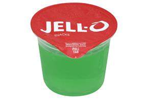 Jell-O Gelatin Ready To Eat Lemon Lime Sugar Sweetened 4 Ct Cups