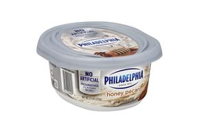 Philadelphia Honey Nut Cream Cheese 8 Oz Tub