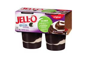 Jell-O Pudding Ready To Eat  Oreo 4 Ct Cups