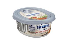 Philadelphia Garden Vegetable Cream Cheese 8 Oz Tub