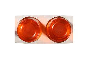 Jell-O Gelatin Ready To Eat Orange  Sugar Sweetened 4 Ct Cups