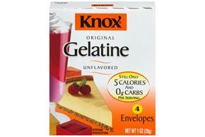 Knox Unflavored Gelatin 1Oz Box
