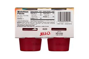 Jell-O Gelatin Ready To Eat Strawberry Sugar Free 8 Ct Cups