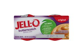 Jell-O Pudding Ready To Eat Butterscotch 4 Ct Cups