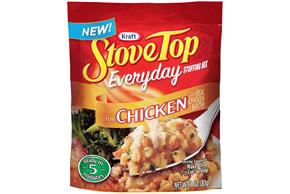 Kraft Stove Top Everyday Stuffing Mix for Chicken 3 oz. Pouch
