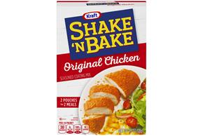 Kraft Shake 'n Bake Original Chicken Seasoned Coating Mix 4.5 oz. Box