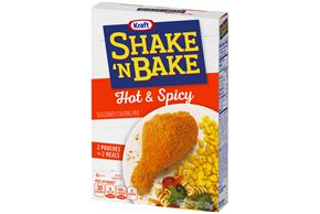 Kraft Shake 'n Bake Hot & Spicy Seasoned Coating Mix 4.75 oz. Box