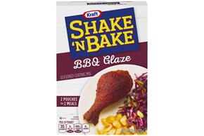 Kraft Shake 'n Bake BBQ Glaze Seasoned Coating Mix 6 oz. Box
