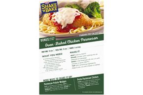 Kraft Shake 'n Bake Parmesan Crusted Seasoned Coating Mix 4.75 oz. Box