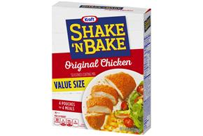 Kraft Shake 'n Bake Original Chicken Seasoned Coating Mix 9 oz. Box