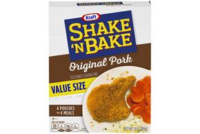 Kraft Shake 'n Bake Original Pork Seasoned Coating Mix 10 oz. Box