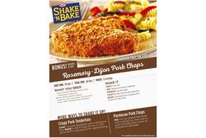 Kraft Shake 'n Bake Original Pork Seasoned Coating Mix 10 oz. Box