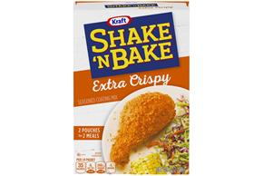 Kraft Shake 'n Bake Extra Crispy Seasoned Coating Mix 5 oz. Box