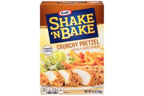 Kraft Shake 'n Bake Crunchy Pretzel Coating Mix 4.6 oz. Box