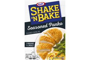 Kraft Shake 'n Bake Seasoned Panko Seasoned Coating Mix 3.8 oz. Box