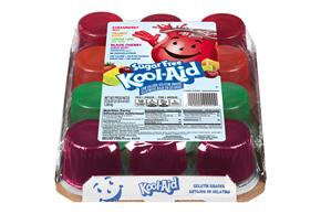 Kool-Aid Gelatin Ready To Eat  Variety Pack Sugar Free 37.6 Oz Box