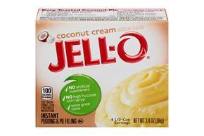 Jell-O Pudding-Instant Coconut 3.4 Oz Box