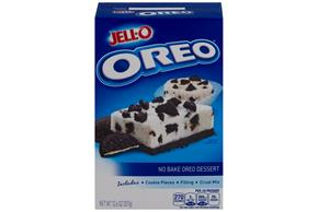 Jell-O No Bake Oreo Dessert Mix  12.6 Oz Box
