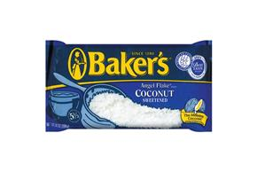 Baker's Sweetened Angle Flake Coconut 14 Oz. Bag
