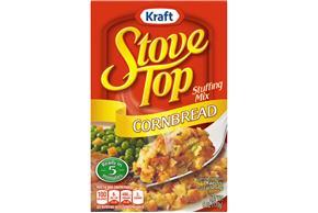Kraft Stove Top Cornbread Stuffing Mix 6 oz. Box