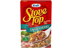 Kraft Stove Top Savory Herbs Stuffing Mix 6 oz. Box