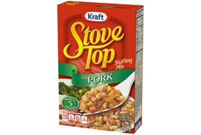 Kraft Stove Top Pork Stuffing Mix 6 oz. Box