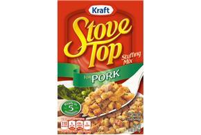 Kraft Stove Top Pork Stuffing Mix 6 oz. Box