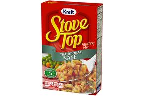 Kraft Stove Top Traditional Sage Stuffing Mix 6 oz. Box