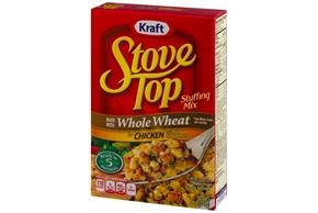 Stove Top Stuffing Mix Made with Whole Wheat for Chicken 5 oz Box