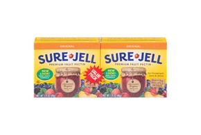 Kraft Baking & Canning Premium 100% Natural 1.75 Oz Boxes Sure-Jell Fruit Pectin 2 Ct Pack